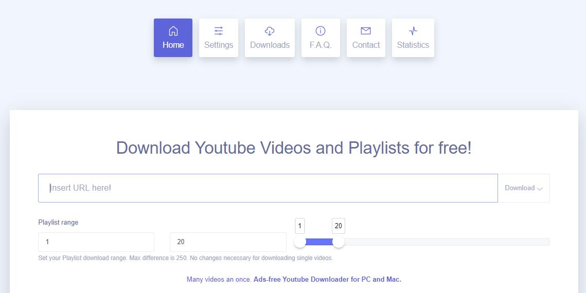 Cómo descargar una playlist de Youtube con Ddownr
