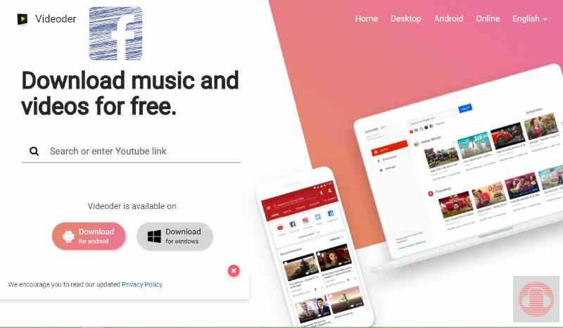 Descargar música de Facebook con Videoder
