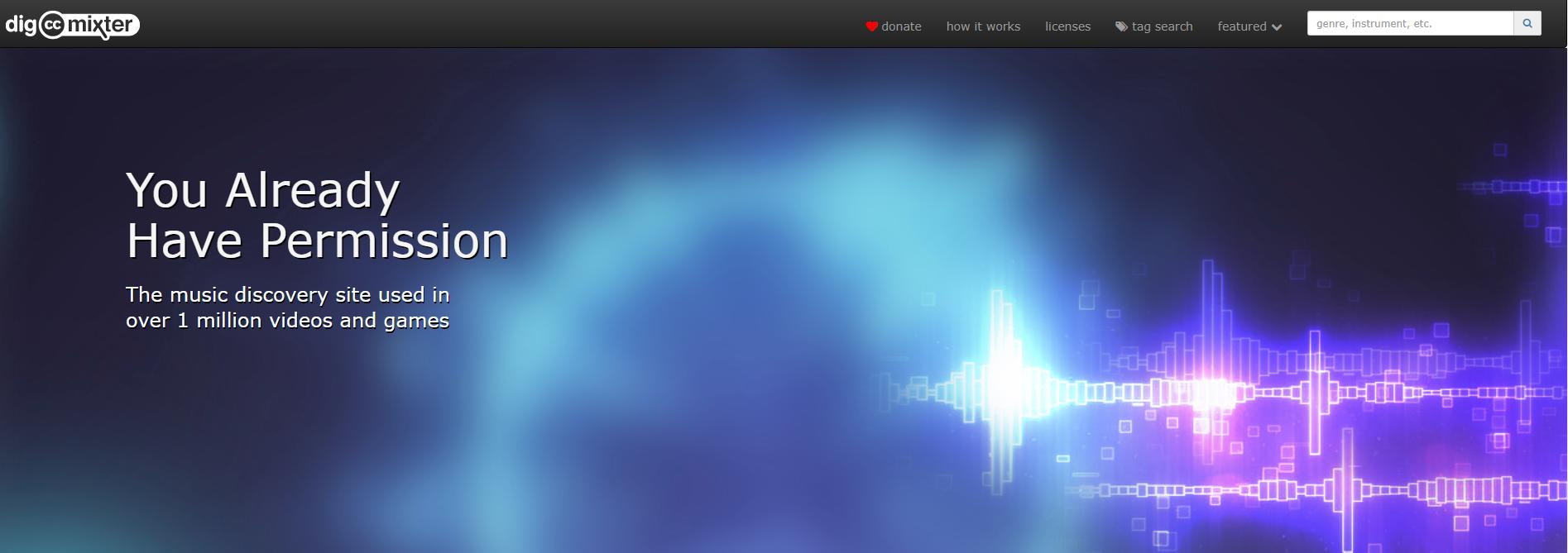 digccmixter web de música libre