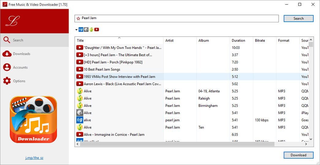 Music and Video Downloader para PC