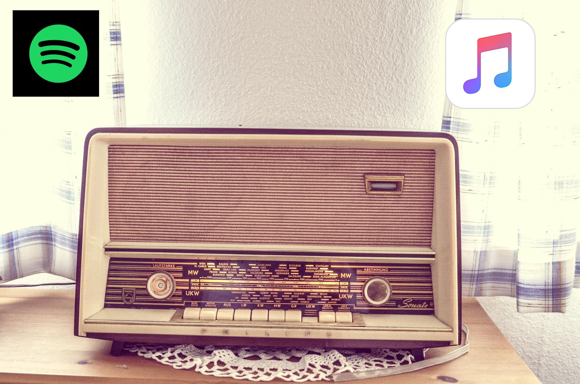 apple music vs spotify radio