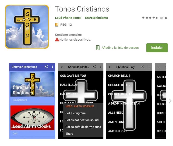 tonos cristianos app de descarga musica cristiana
