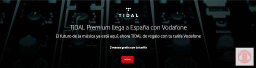 Tidal Vodafone
