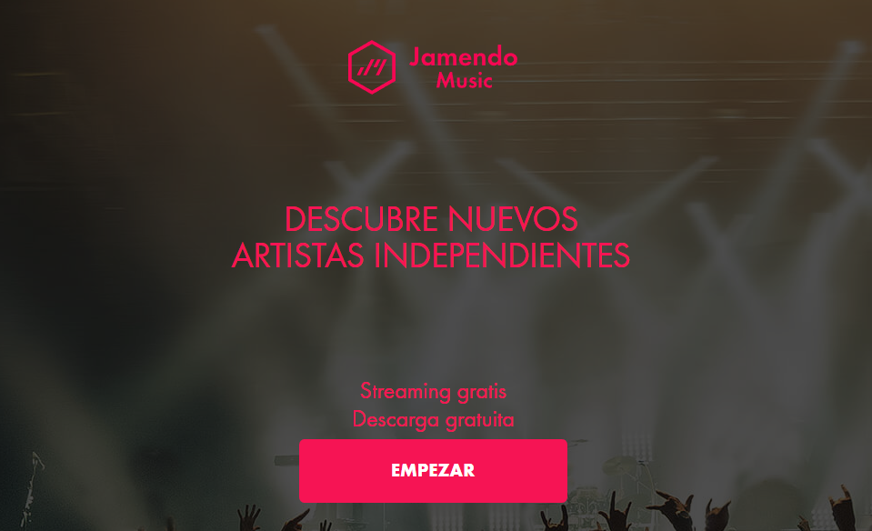 Portada de Jamendo Music Web