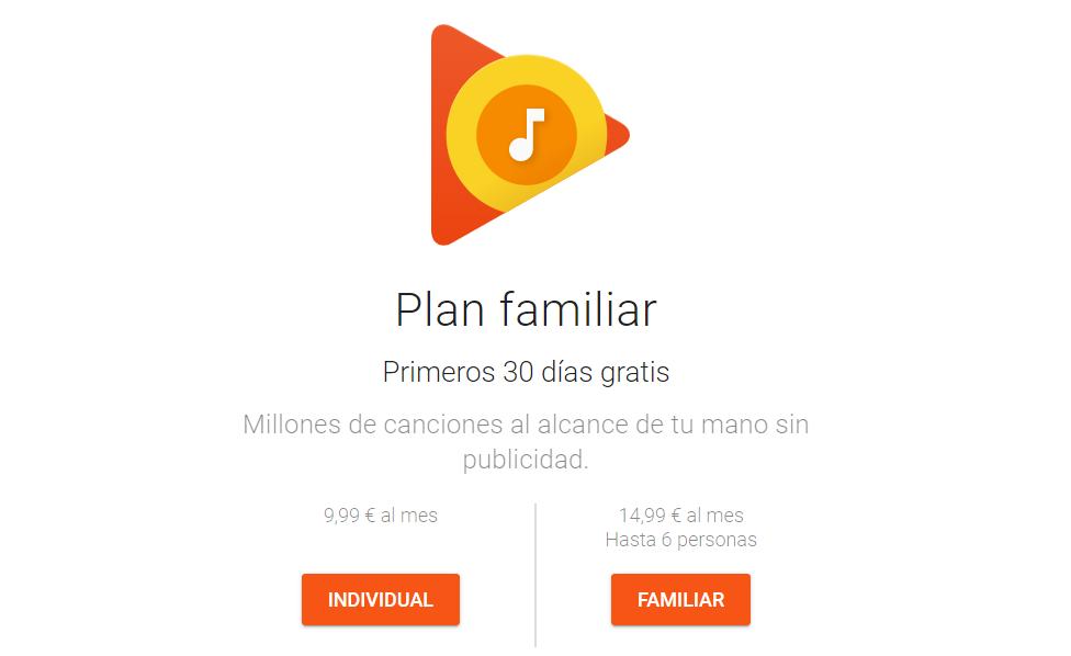 Google Play Music portada