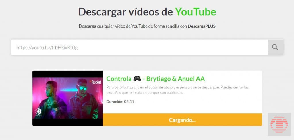 Tutorial DescargaPLUS web