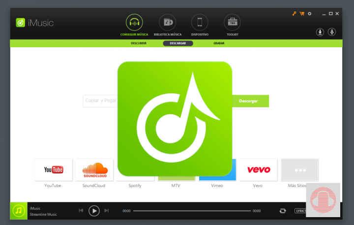 iMusic aplicación para PC